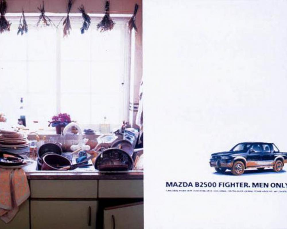 KITCHEN, Mazda B2500 Fighter, J Walter Thompson Publicidade, Mazda, Print,