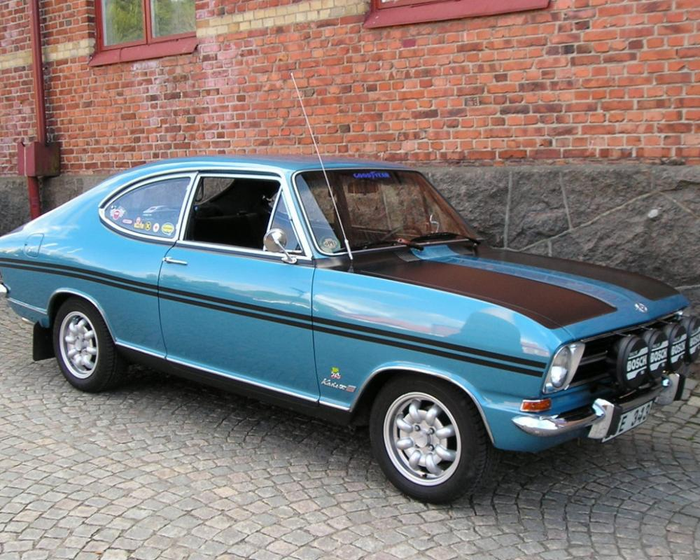 Opel Kadett Rallye coupe - huge collection of cars, auto news and reviews,