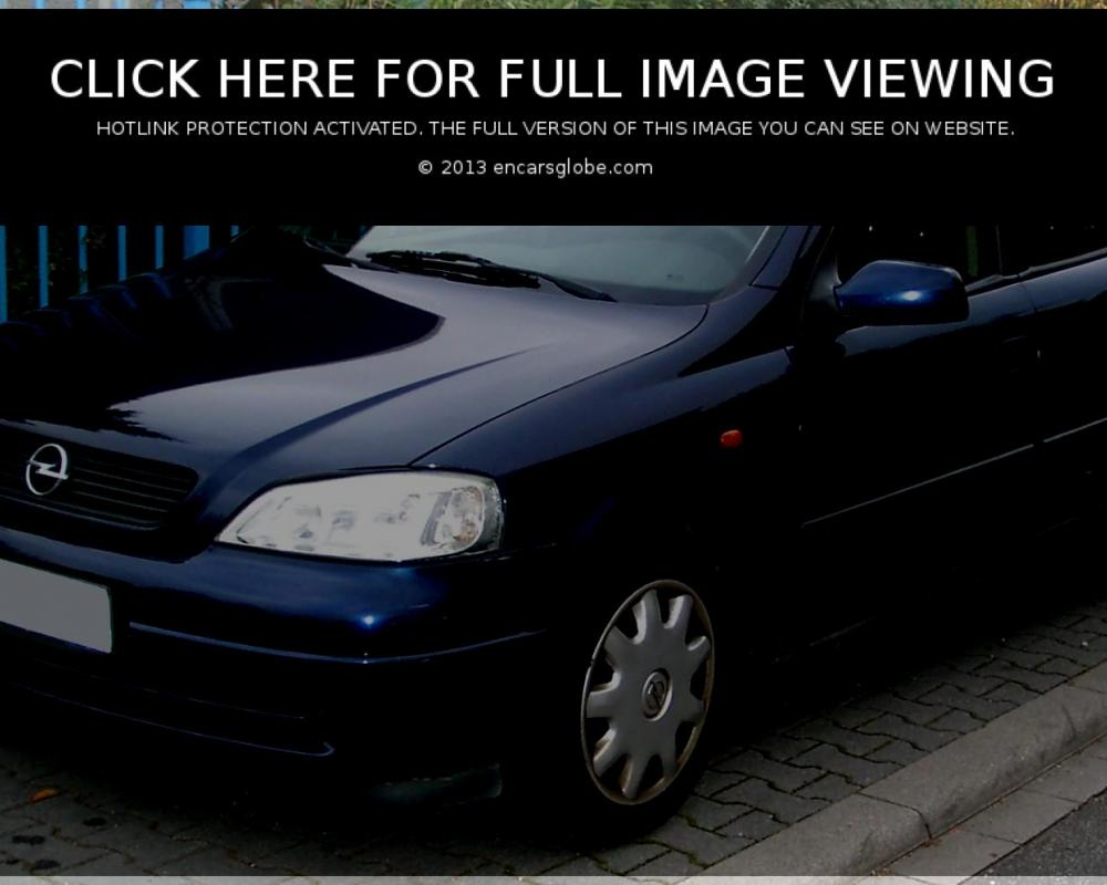 Opel Astra Kombi: 05 photo