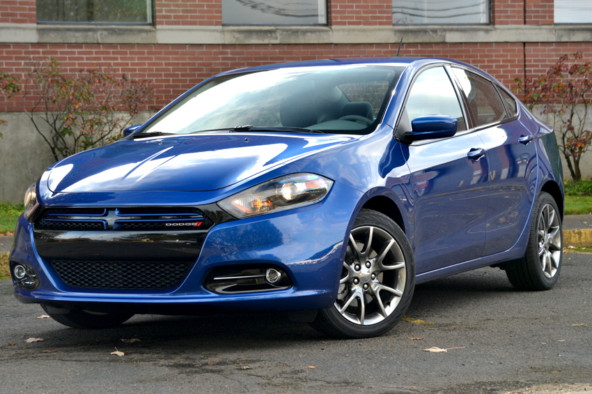 2013 Dodge Dart review front angle. After a short hiatus that saw us waving