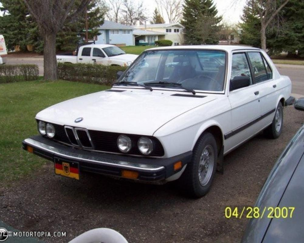 Photo of a 1984 BMW 528e (Christine). 2,157 views; 3 comments; forward car