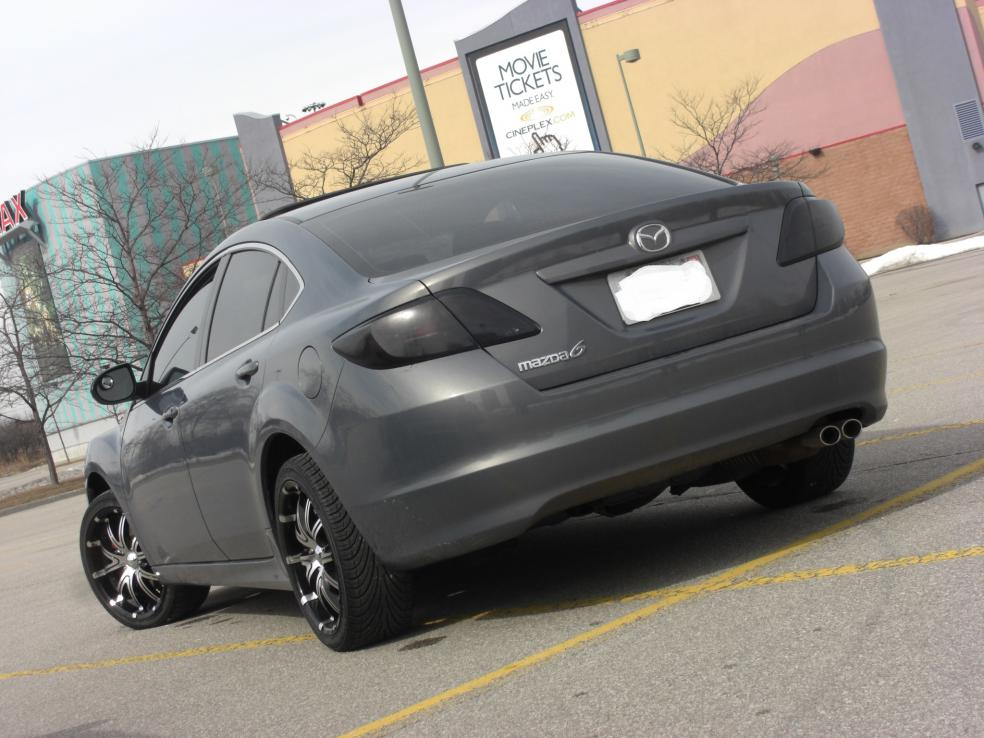 "2009 Mazda 6 on 18"" - My New Wheels - Mazda 6 Forums : Mazda 6 Forum / Mazda"