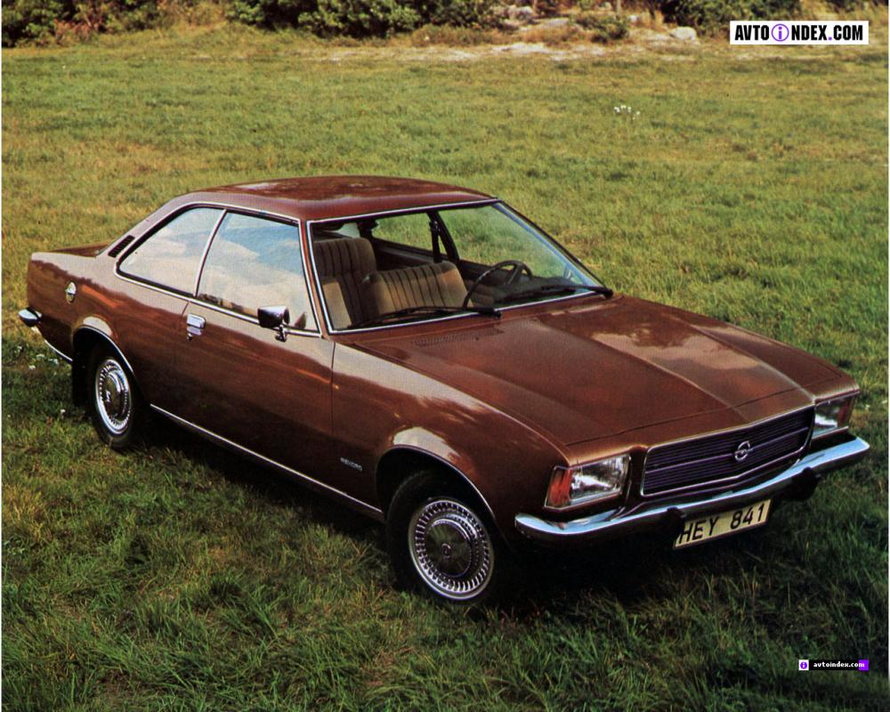 Opel Rekord Coupe D (1972-1977)