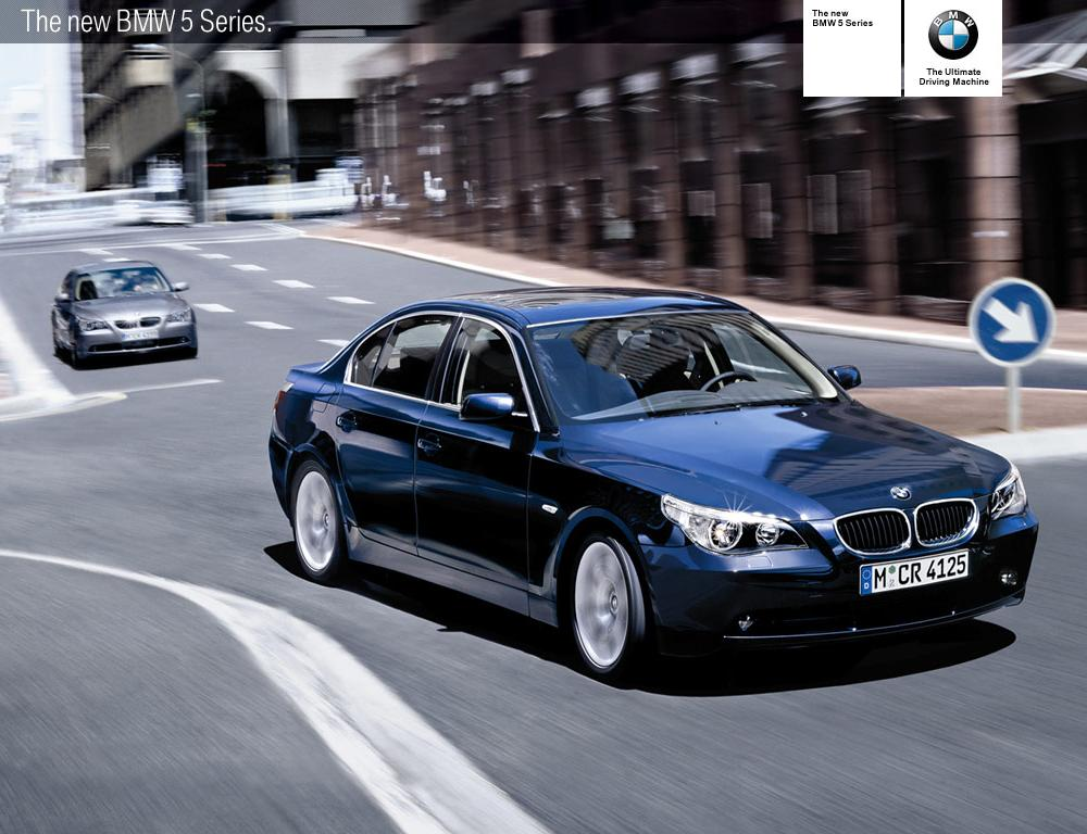 From the start, the fifth generation of the BMW 5 Series introduced in 2003