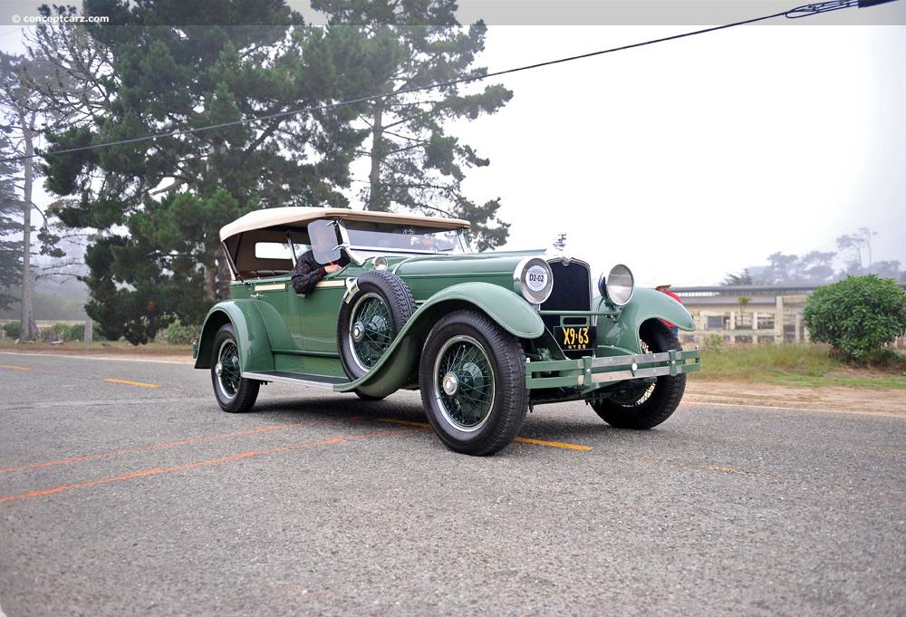 Stutz BB 4-door convertible