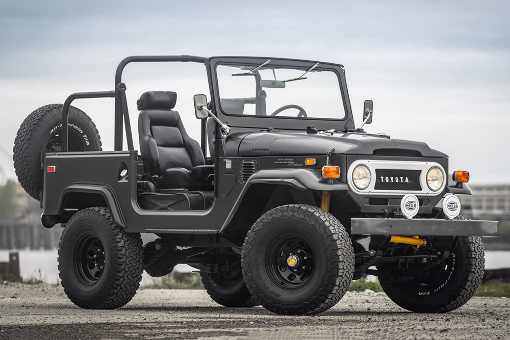 Auction Block: 1971 Toyota Land Cruiser FJ40 | HiConsumption