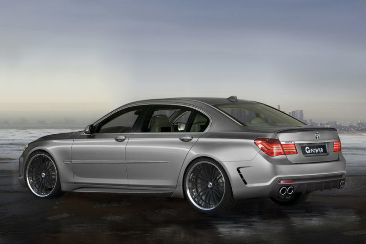 "G-Power ""Storm"" - BMW 760i with 725 horsepower"