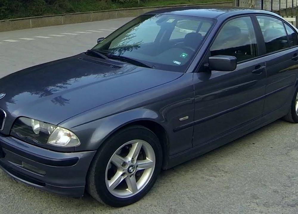 BMW 320d 1999 - YouTube