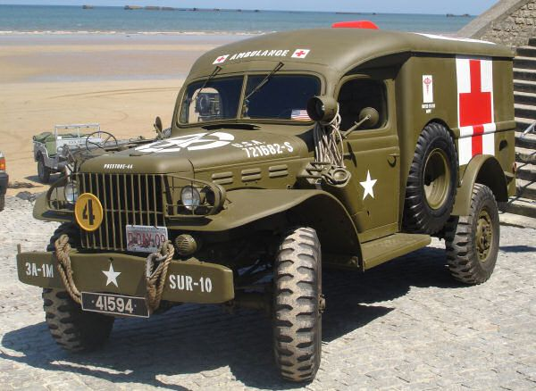 Dodge wc54 ambulance. Great ruggedness. | Military vehicles, Army ...