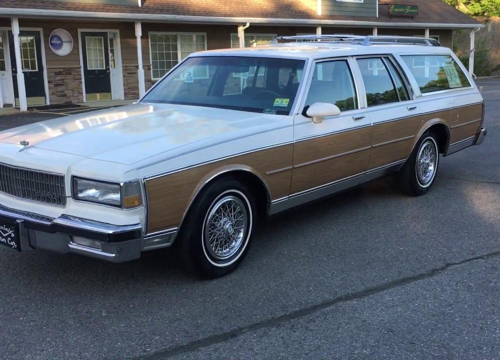1990 Chevrolet Caprice Estate wagon with 87k by Specialty Motor ...