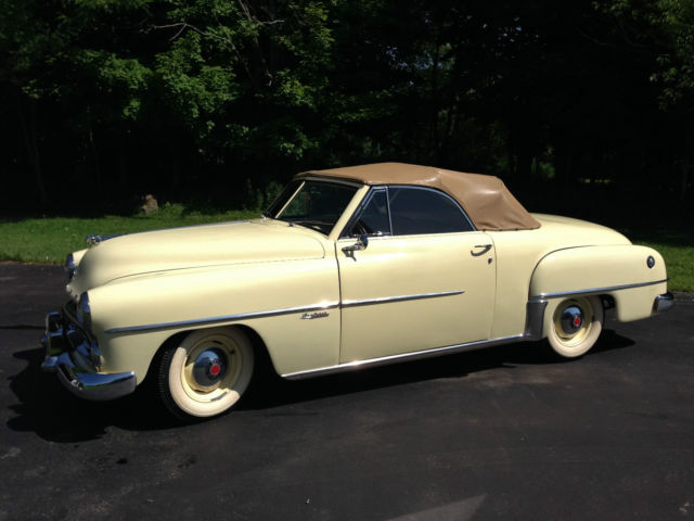 Classic 1951 Dodge Wayfarer Sportabout Convertible for sale in ...