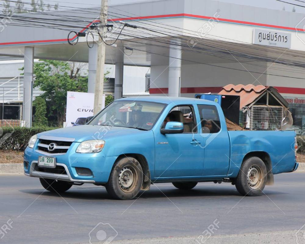CHIANGMAI, THAILAND -MARCH 14 2016: Private Pick Up Car, Mazda ...