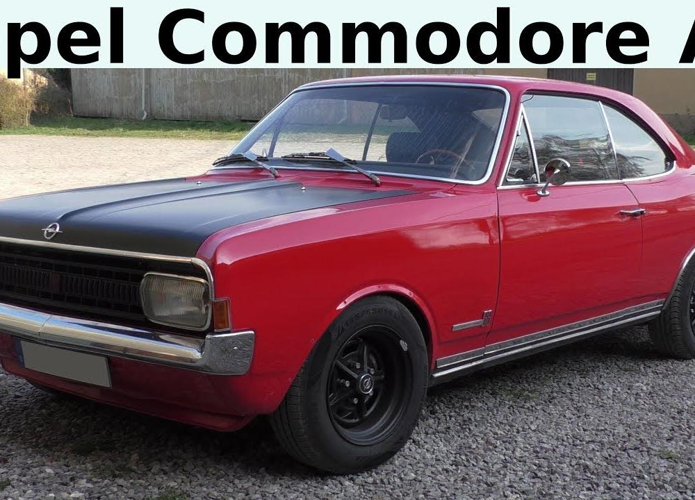 Opel Commodore A (1967-1972) ADAM OPEL AG - Classic Car - Oldtimer ...