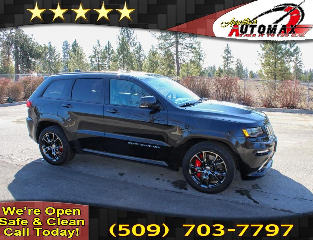 Pre-Owned 2016 Jeep Grand Cherokee SRT-8 6.4L V8 4x4 VAPOR PACKAGE ...