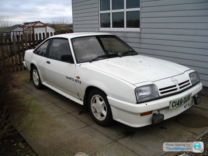 RE: Opel Manta GTE: Spotted - Page 2 - General Gassing - PistonHeads