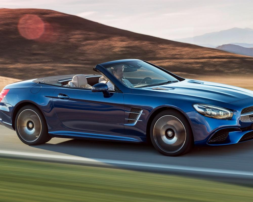 Mercedes-Benz SL: The legend – now even more dynamic.
