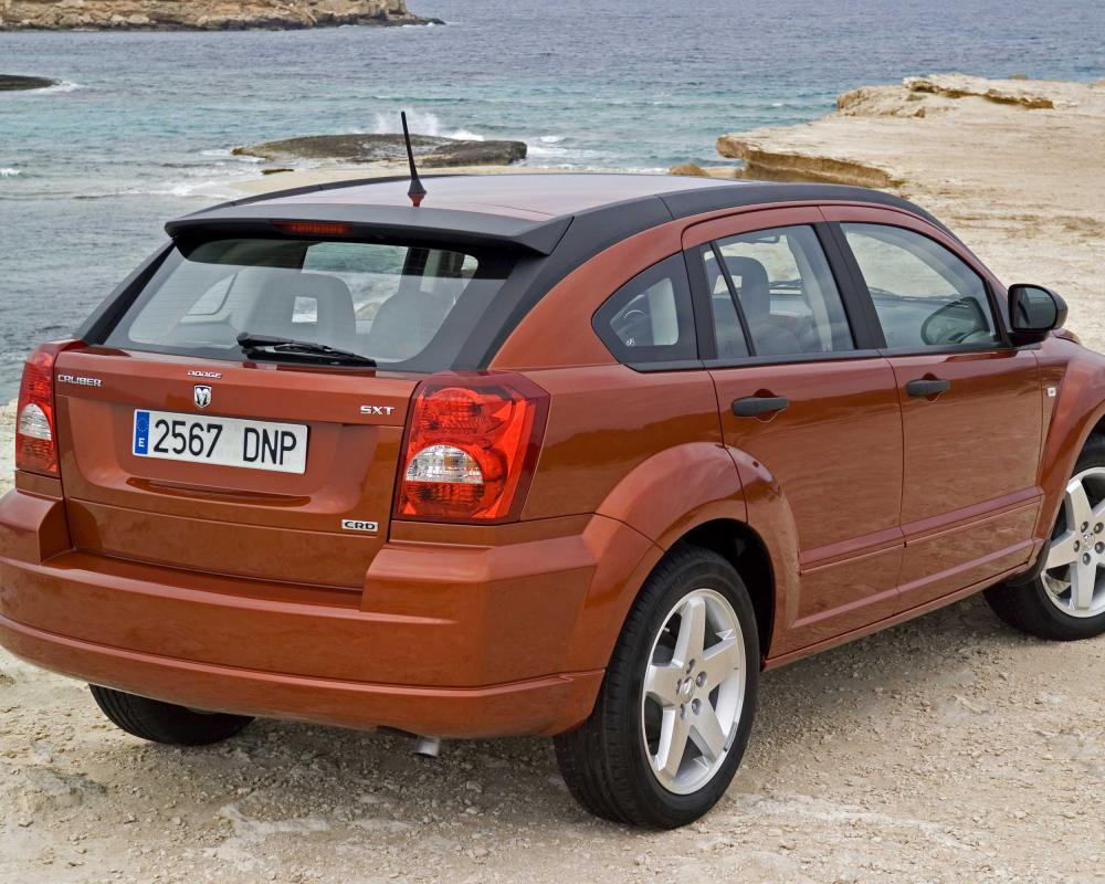 Dodge Caliber 1st Generation 2.0 TDI Manual, 6-speed