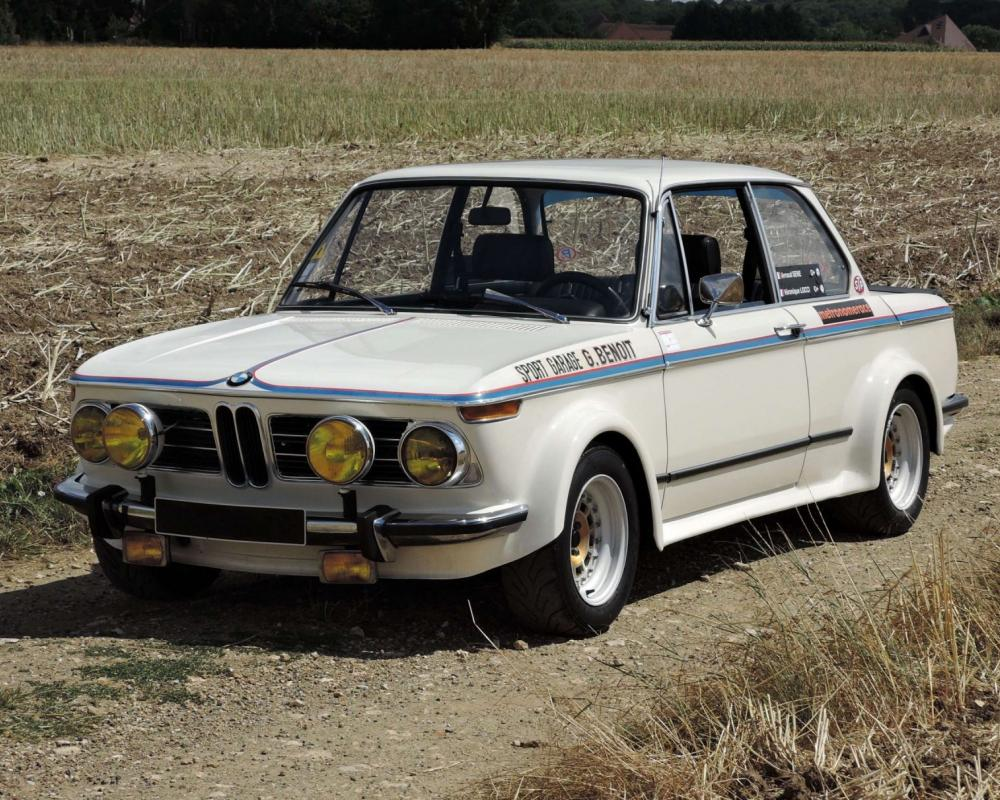 1971 BMW 2002 Tii-Specification Group 2 - A French-Built Racer