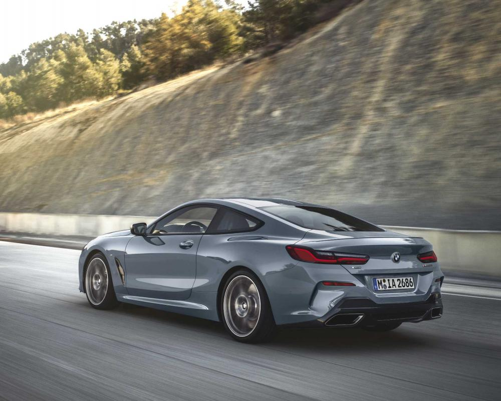 The all-new BMW 8 Series Coupe.