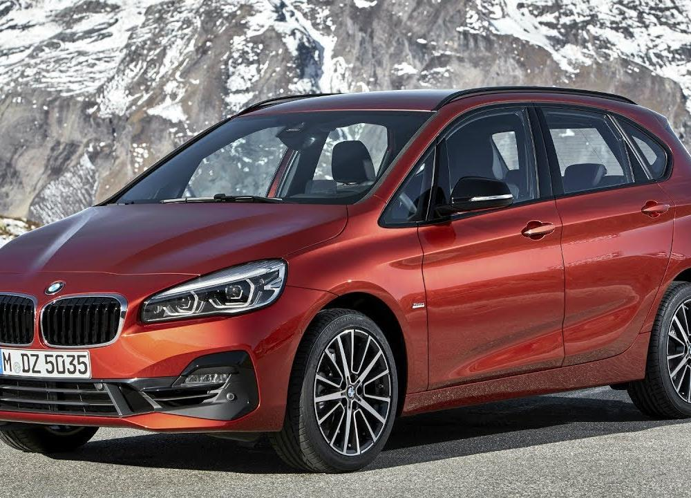 BMW 2 Series Active Tourer - Interior And Exterior - YouTube