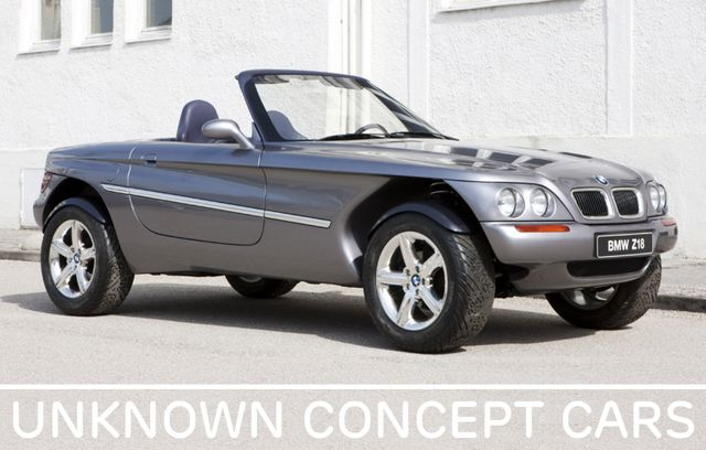 Unknown Concept Cars #2: The 1995 BMW Z18