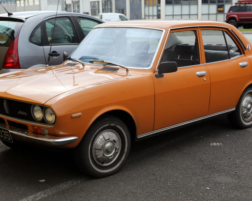 Mazda Capella - OMG - this was my first car and in the same colour ...