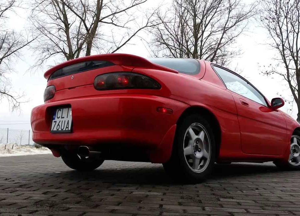 Mazda MX-3 Precidia 1.8 v6 exhaust sound - YouTube