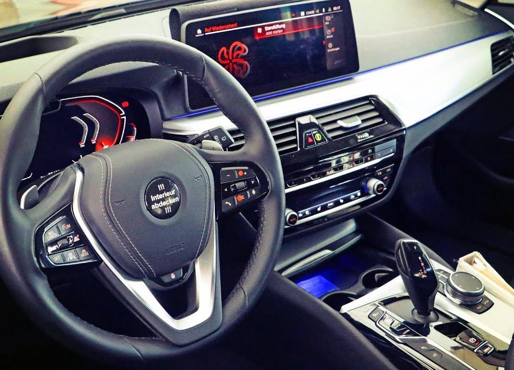 2020 BMW 5 series facelift interior spied for the first time - YouTube