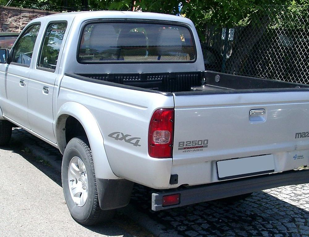 Datei:Mazda B2500 rear 20080612.jpg – Wikipedia