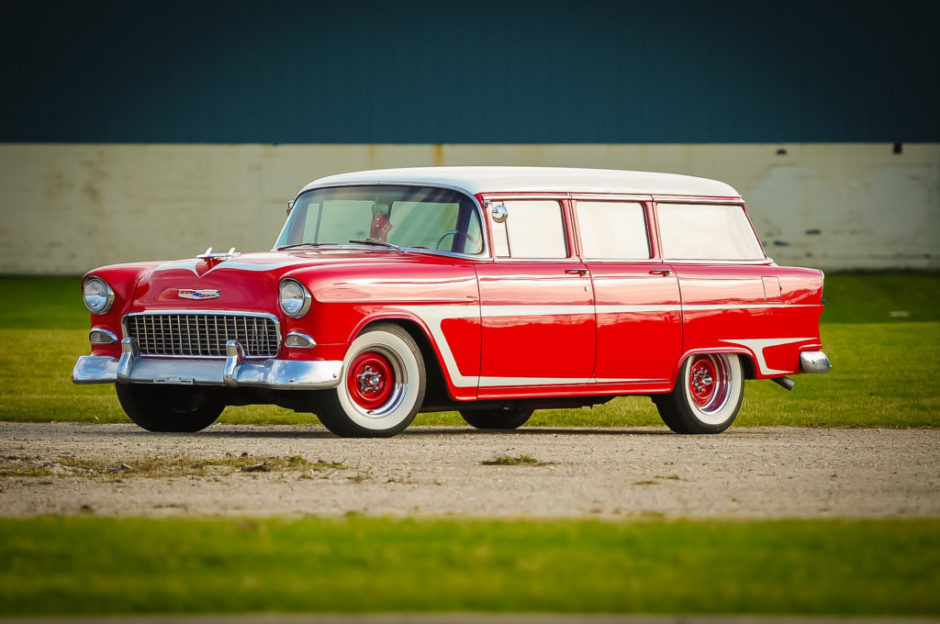 Ls-powered 1955 Chevrolet 210 Townsman Wagon - The Bid Watcher