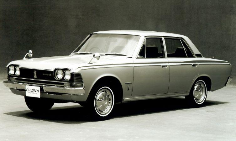 History of the Toyota Crown - Toyota