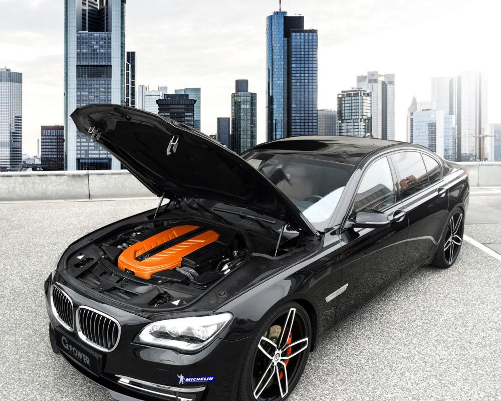 G-Power makes the BMW 760i produces 610 hp