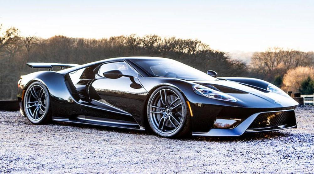 Gorgeous 2018 Ford GT May Sell For Over $1 Million In England ...