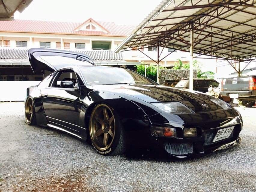 Nissan 300 zx Whith large kit | Nissan, Nissan z cars, Nissan nismo