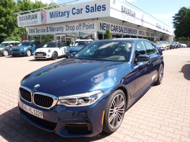 BMW 530 i xDrive Sedan - Tax Free Military Sales in Kaiserslautern ...
