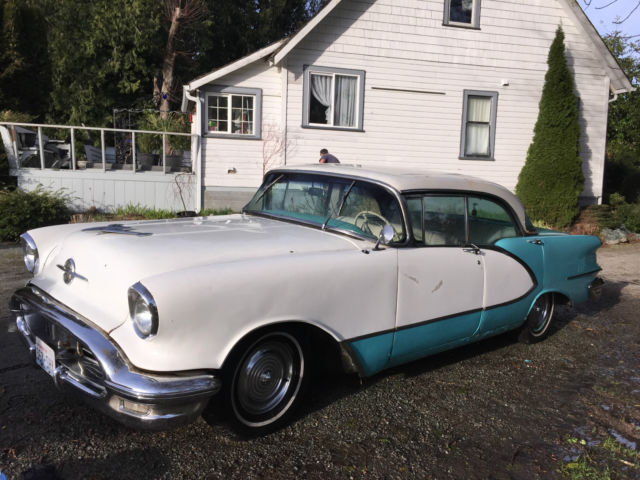 Original 1956 Oldsmobile 98 4Dr Hardtop (1955-1957) numbers match ...