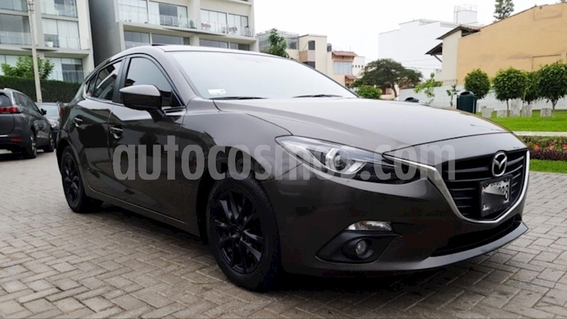 Mazda 3 Sedan Hatchback 1.6 Aut Full usado (2014) color Gris ...
