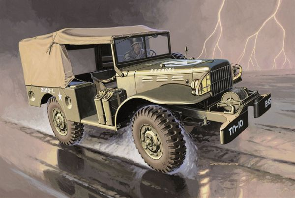 Dodge WC-51 Italeri 7010