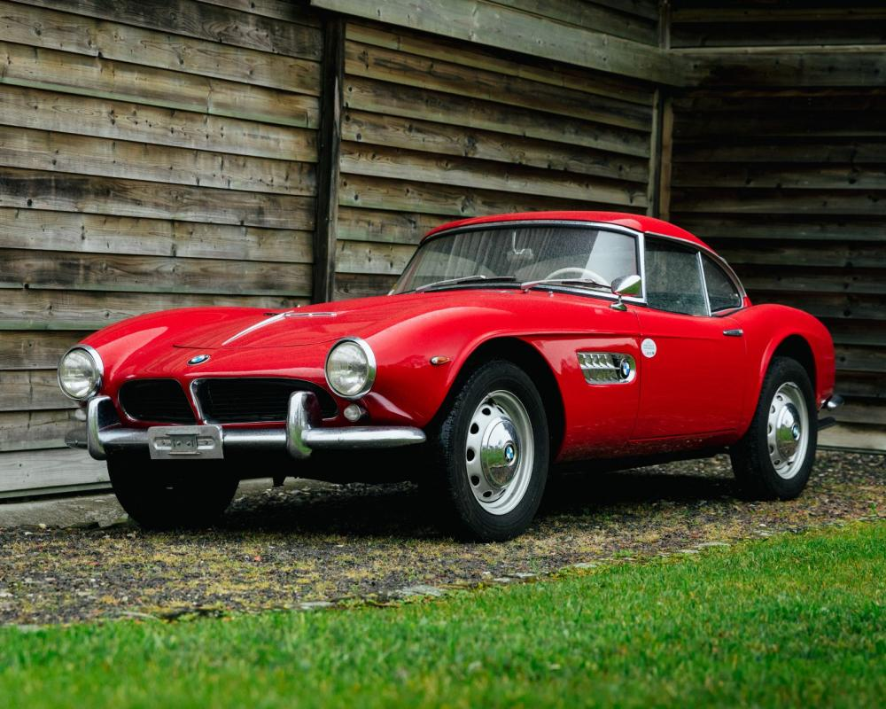1957 BMW 507 Series 2 Roadster with Hardtop / Sold / Kidston SA ...