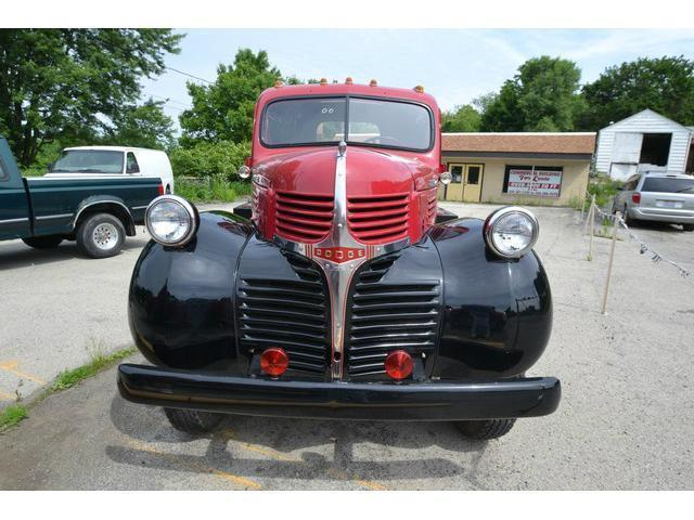 1947 DODGE 2 1/2 TON PICK-UP POWER WAGON FIRE TRUCK FLAT BED STAKE ...