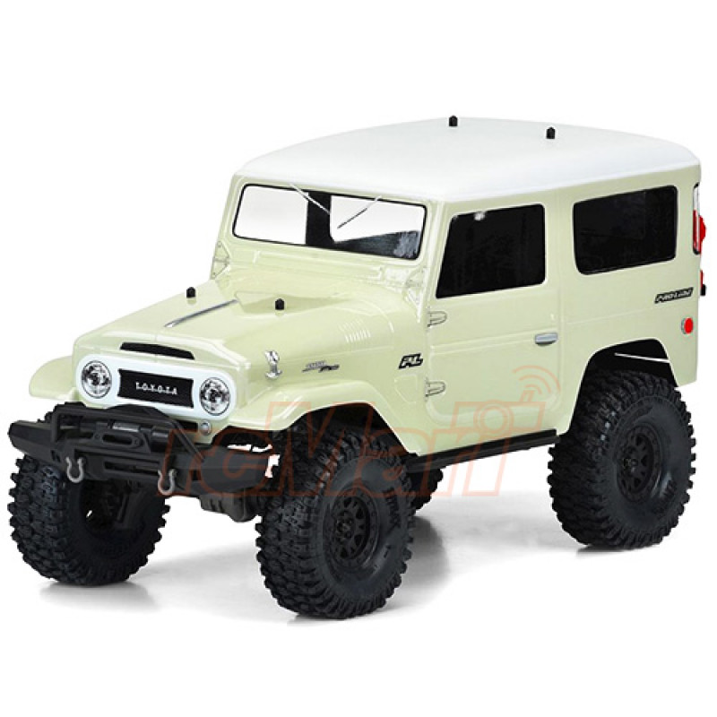 Pro-Line 1965 Toyota Land Cruiser FJ40 Clear Body Set For 12.8 ...
