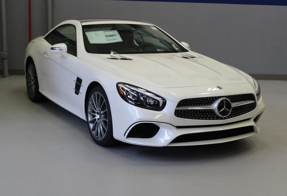 New 2020 Mercedes-Benz SL SL 550 ROADSTER in White Plains #20452S ...