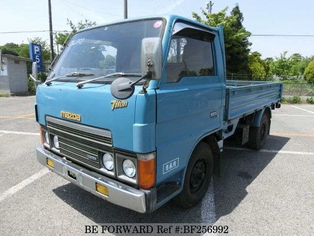 Used 1981 MAZDA TITAN CAB OVER/K-WEW051 for Sale BF256992 - BE FORWARD