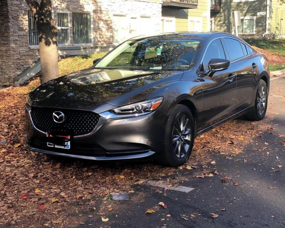 2018 Mazda 6 Speed, she has me looking back every time I park her ...