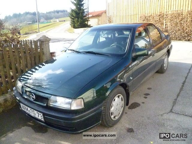 1995 Opel Vectra GL - Car Photo and Specs