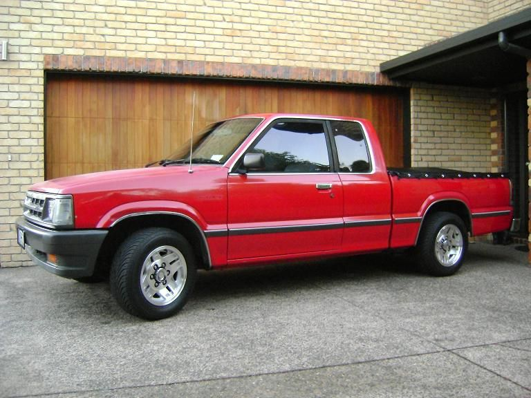 1987 and 1990 Mazda B2000/B2200 pickups. Had two of these, loved ...