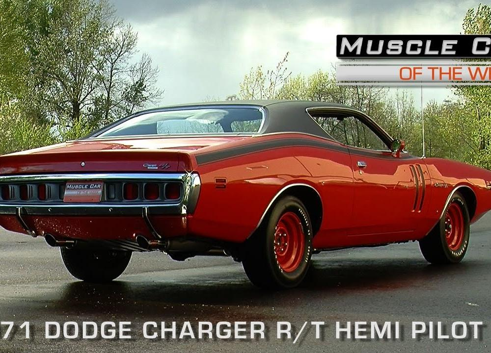 Muscle Car of the Week Video Episode # 111: 1971 Dodge Charger R/T ...