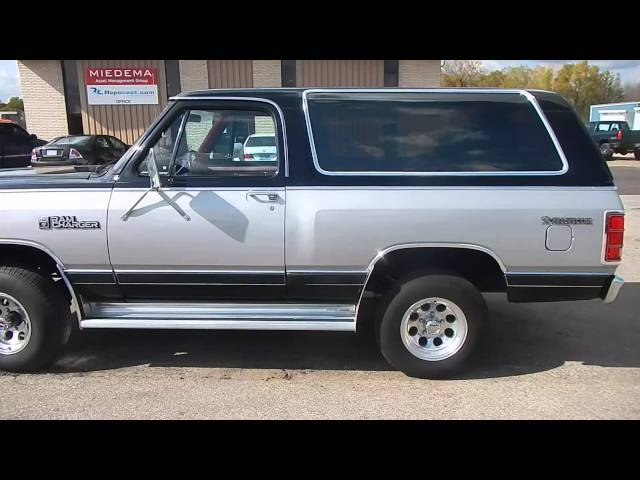 1984 Dodge Ram Charger Prospector Royal Se 30048