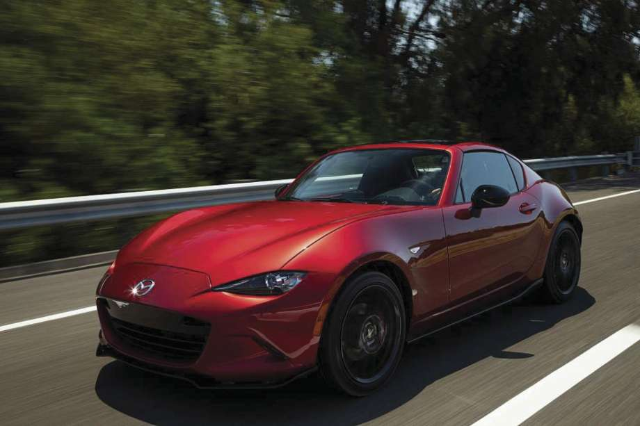 Mazda's 181-hp 2019 MX-5 roadster offers retractable roof ...
