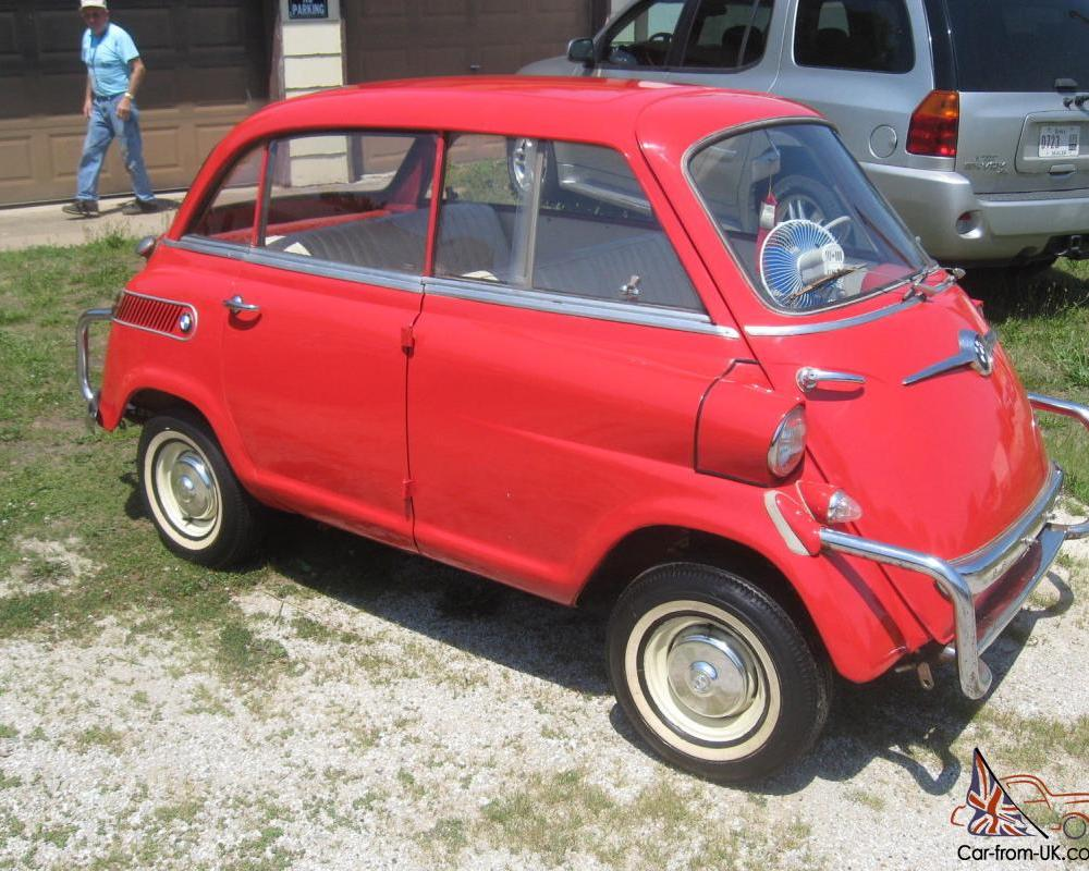 1958 BMW ISETTA 600 **VERY RARE U.S EXPORT MODEL**